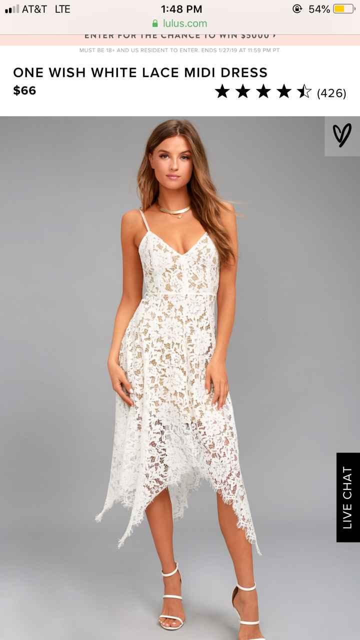 Bridal shows dress - 1