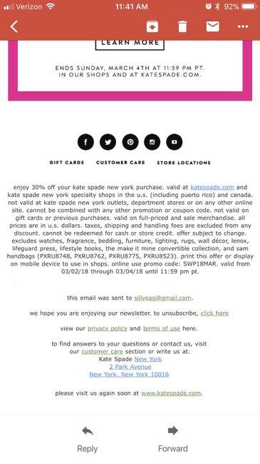 Psa: Kate Spade 30% off sale - 1
