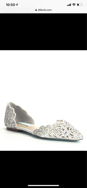 Crystal sparkling bridal flats 1