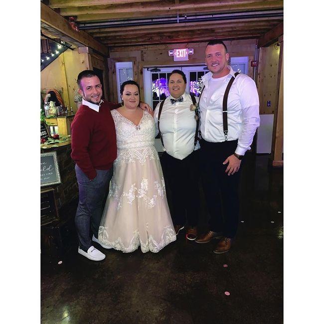 Aaand we're married! 3