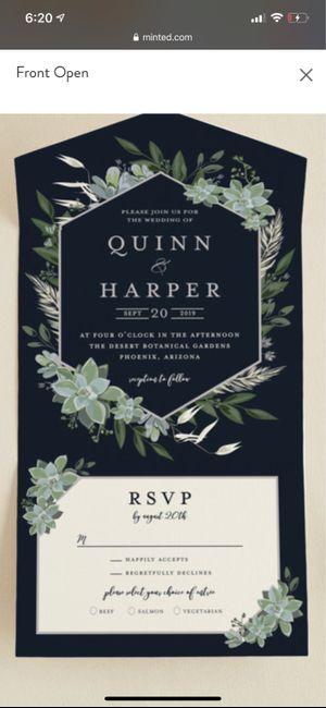 Invitations 1