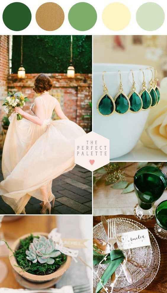 October 17th wedding color pallet - 1