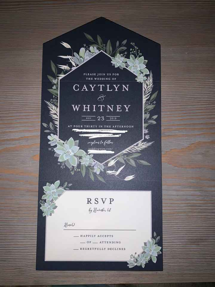 Minted All In One Invitations - 1