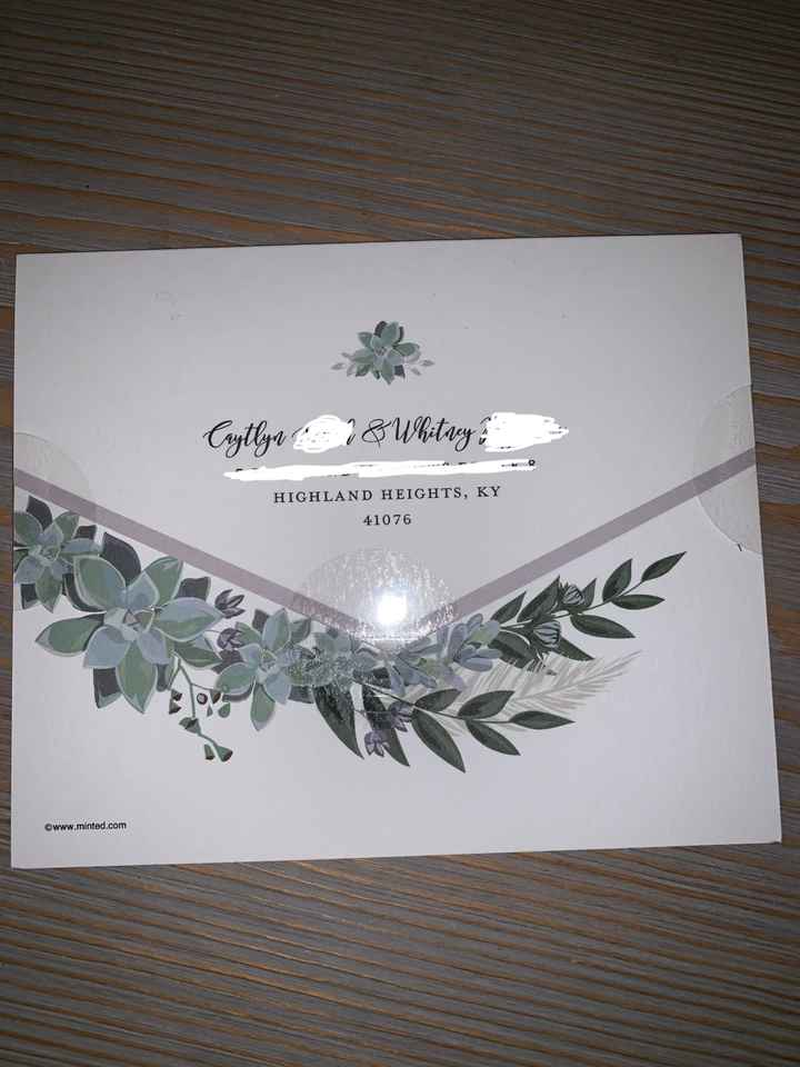 Minted All In One Invitations - 3