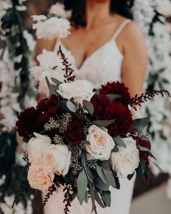 Fall wedding flowers - 2