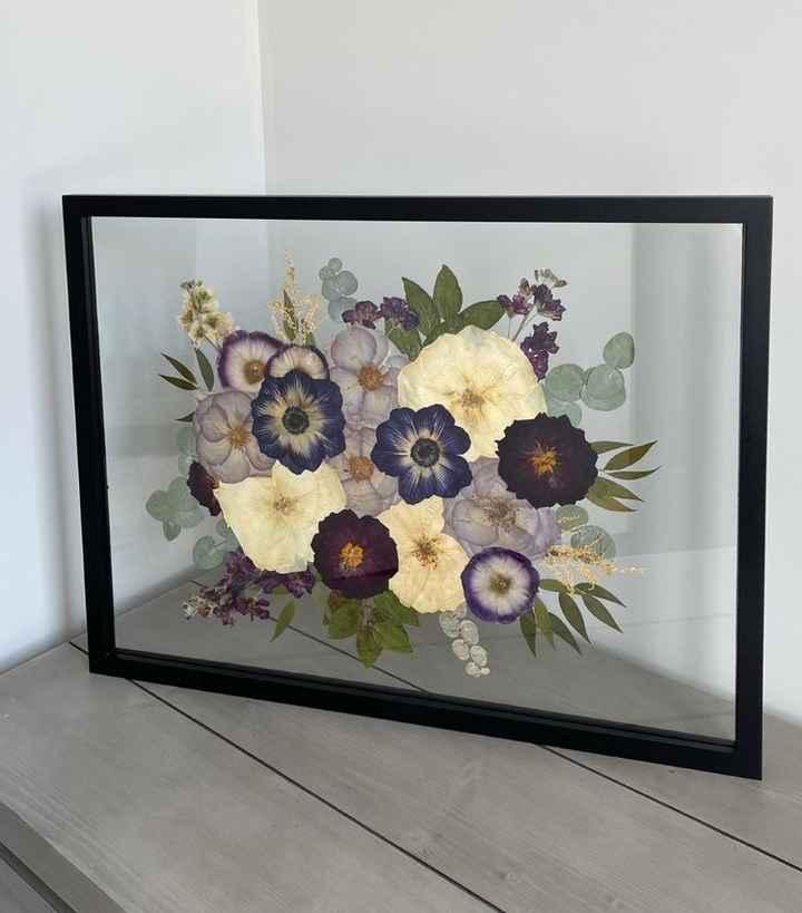 Pressed Bridal Bouquet - 1