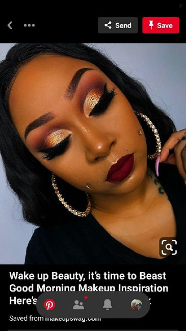 Anyone else wanting glam makeup for your big day? - 1