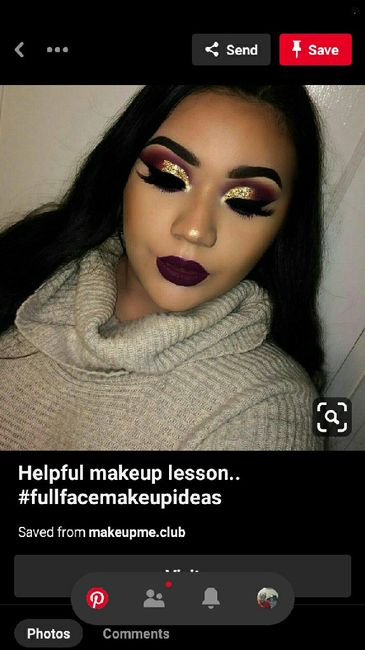 Anyone else wanting glam makeup for your big day? - 2