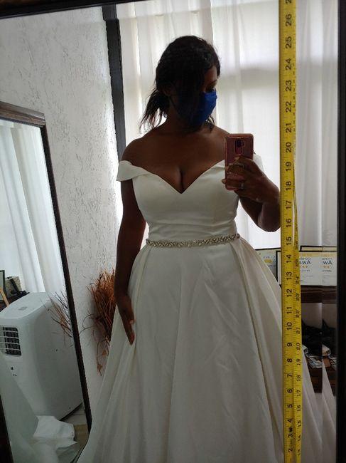 2Nd dress fitting 3