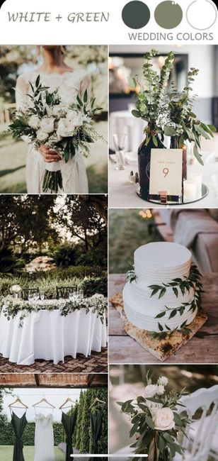 What colors did you choose for your wedding? 13