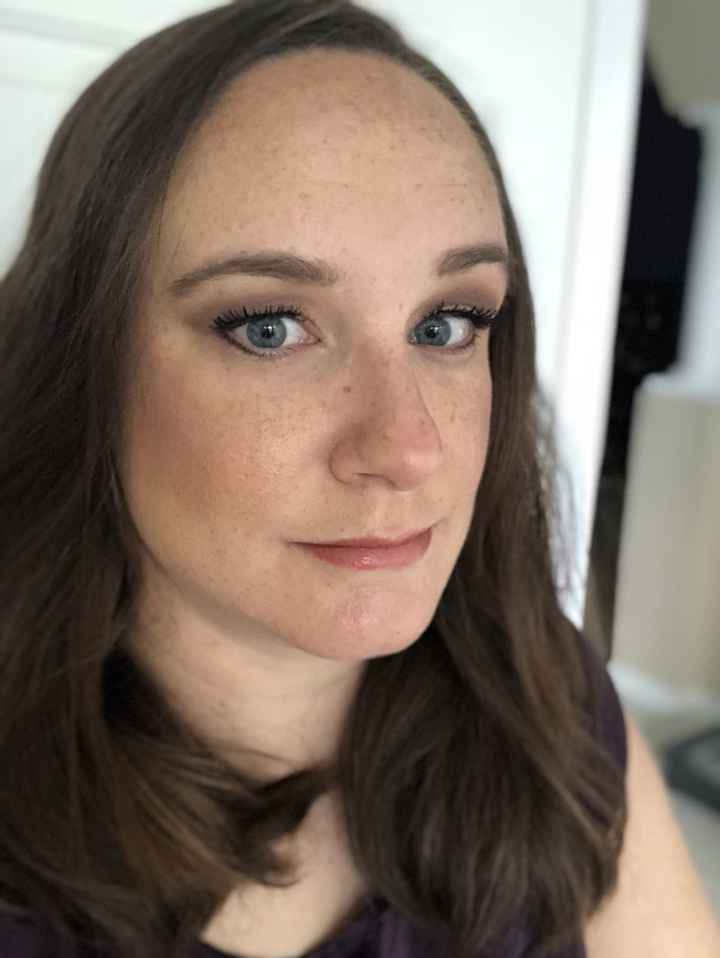 Second makeup trial - 2