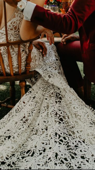 Does anyone know what kind of lace this is? 1