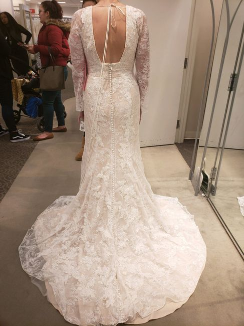 Any Long sleeved brides or brides to be out there? 4