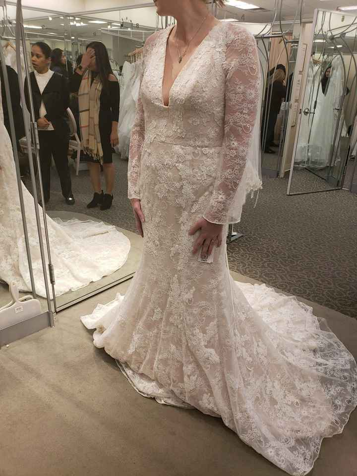 Any Long sleeved brides or brides to be out there? - 1