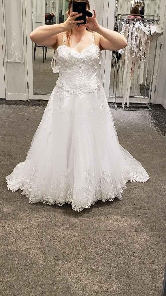 David's bridal alterations - 1