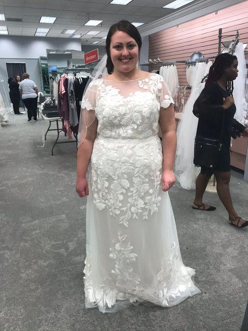Plus Size Bride (davids Bridal/photography) 1
