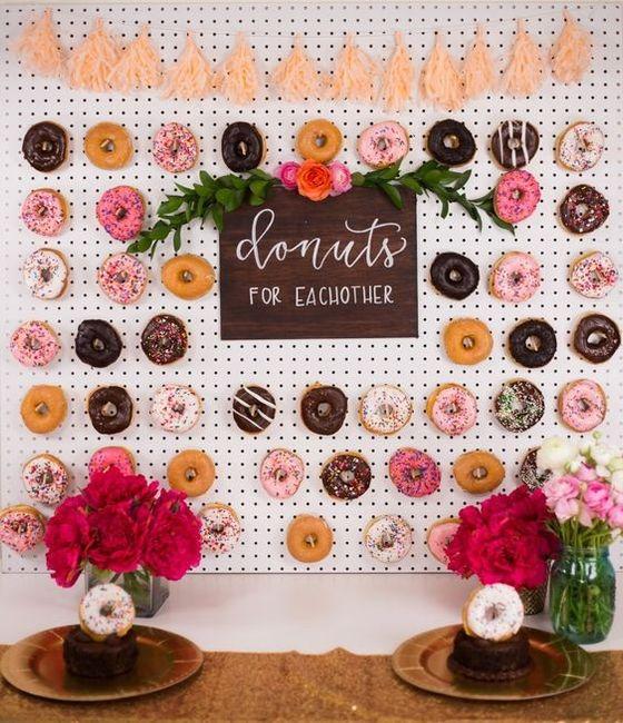 Donut Walls Into It Or Over It Weddings Wedding Reception Wedding Forums Weddingwire