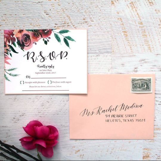 Never have I ever.... forgotten to RSVP to a wedding 1