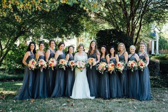 Short or Long Bridesmaids Dresses? 1
