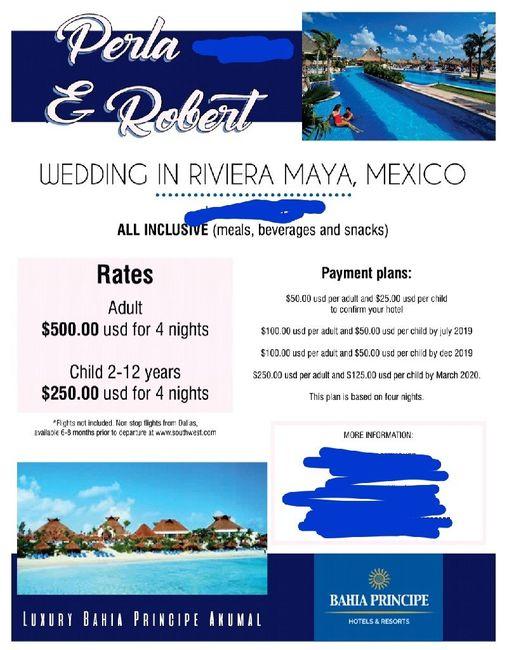Destination wedding invite etiquette - 1