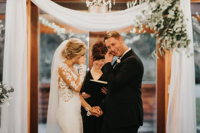 Who is more likely to cry on the wedding day? 1