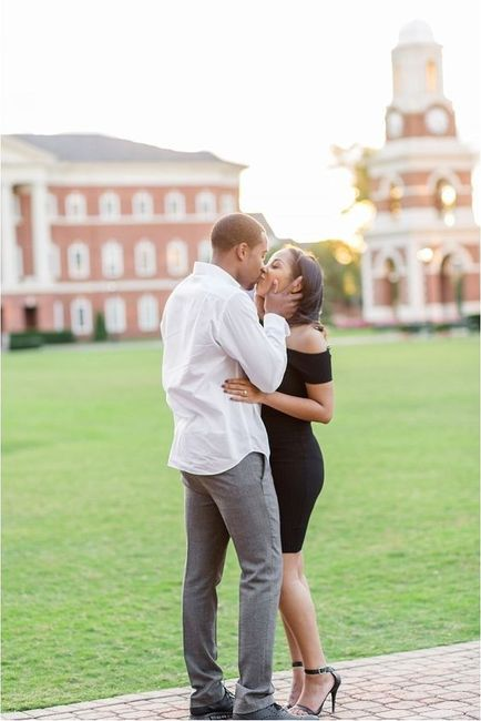 Where are you taking engagement photos? 1