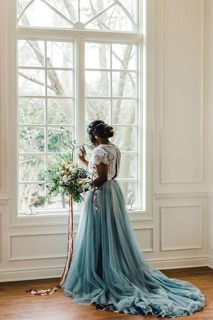 Wedding Dress - Red, White or Blue? 3