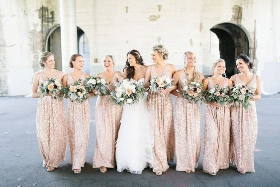 Keep or Cancel: Matching Bridesmaids Dresses? 1