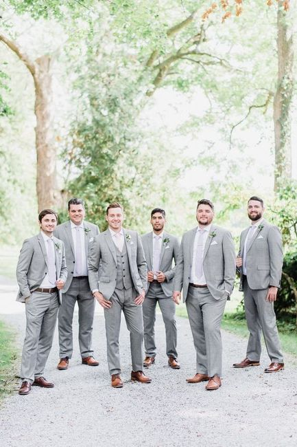 Groomsmen Suits - What Color? 1