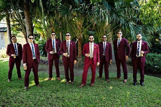 Groomsmen Suits - What Color? 4