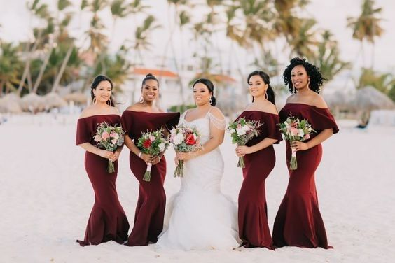 Bridesmaids Dresses - Matching or Mixing It Up? 1