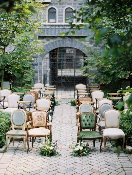 Ceremony Seating - Matching or Mixing It Up? 2