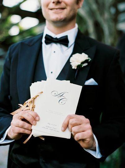 Formal Ceremony Programs