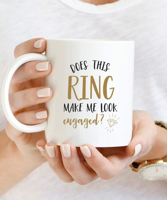 Have you bought yourself any engagement swag? 1