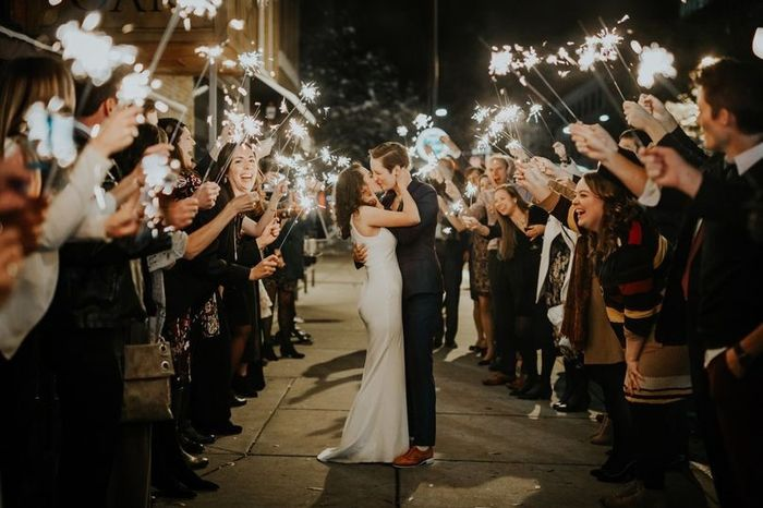 Sparkler Send Off Trend - Into It or Over It! 1