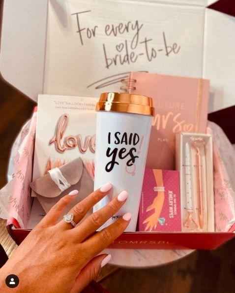 #JustSaidYes? 💍 Share for a chance to win prizes from Pack Up + Go and Miss to Mrs. Box! 2
