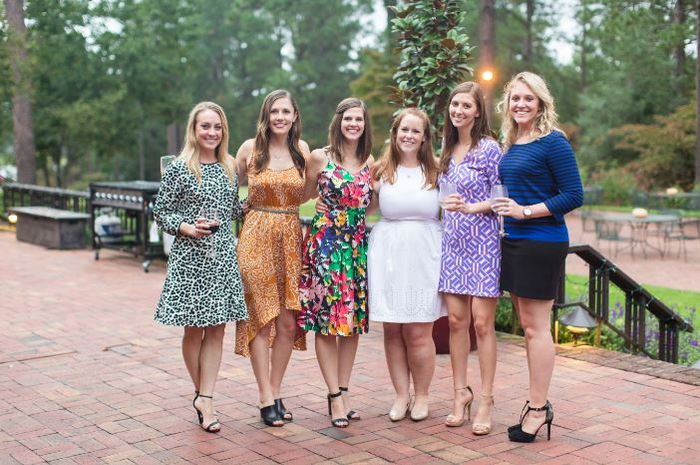 What to wear for a fall outdoor wedding? 5
