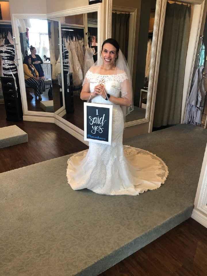 2020 wedding dresses!! Just bought mine!! - 1