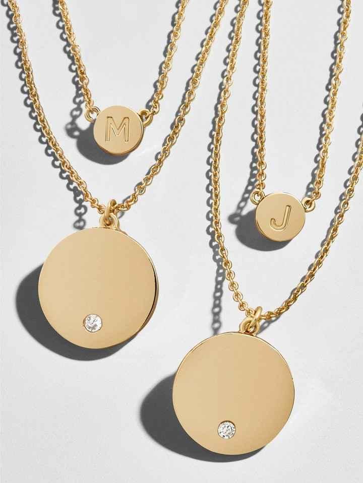 Baublebar Alpha Layered Necklaces