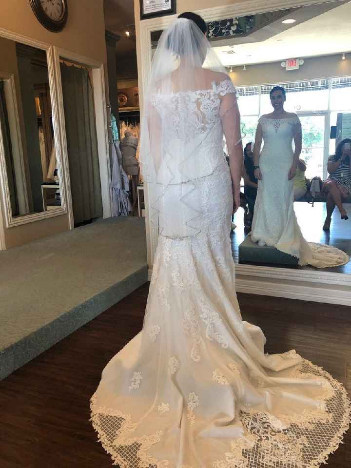Is this wedding dress suitable for the beach? - 1
