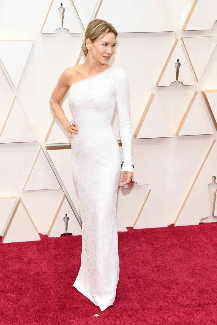 Renee Zellweger 2020 Oscars Dress