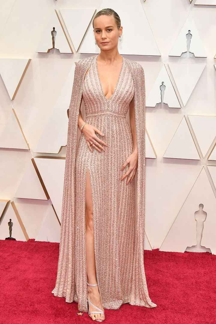 Brie Larson 2020 Oscars Dress