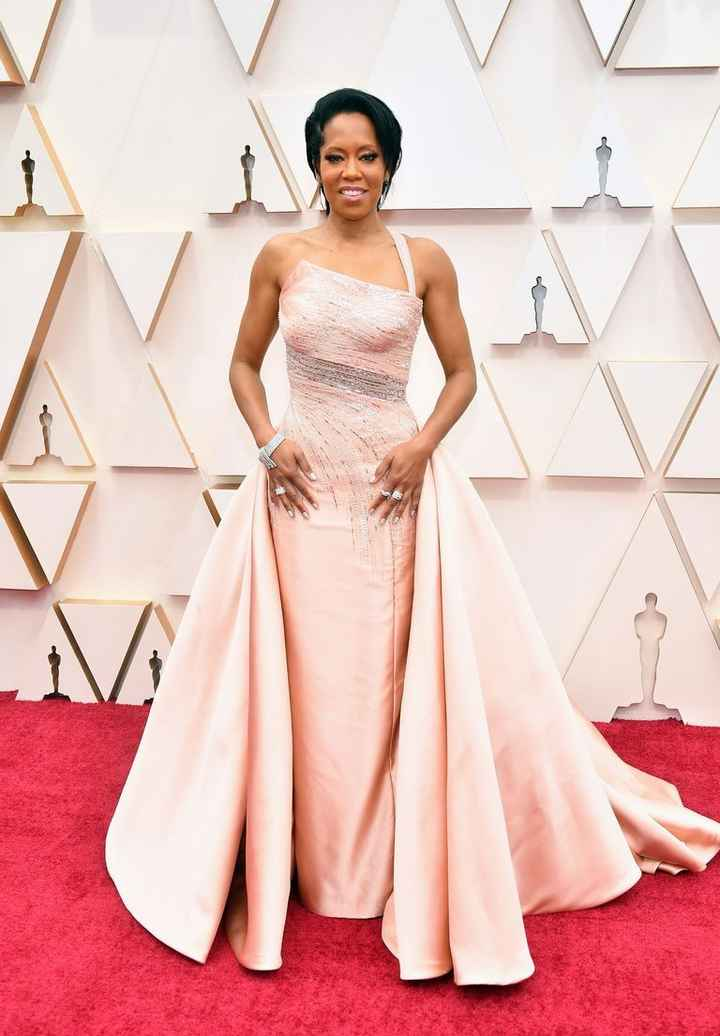 Regina King 2020 Oscars Dress