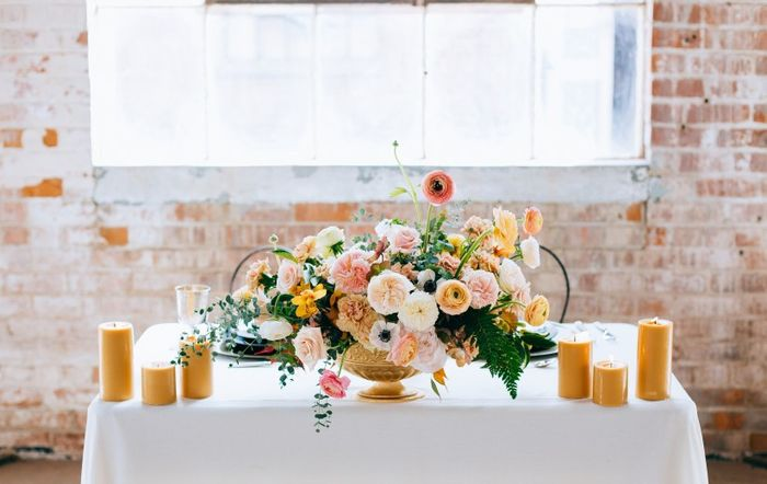 Spring Weddings!!  What are your wedding colors? 1