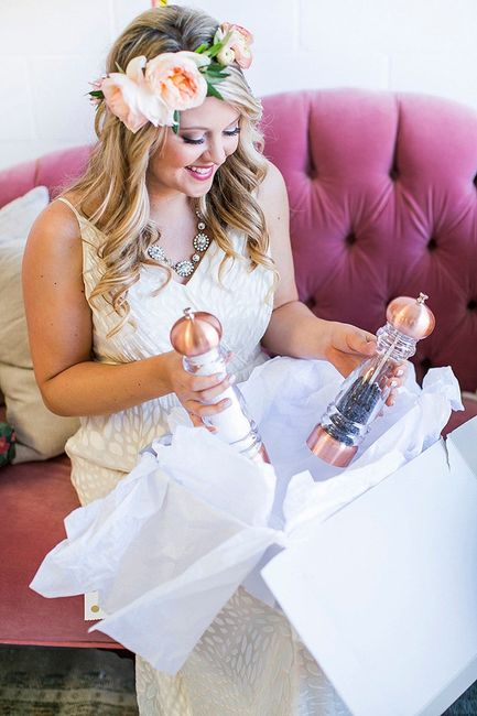 Wedding Superstitions - Using Your Gifts Before the Wedding Day? 1