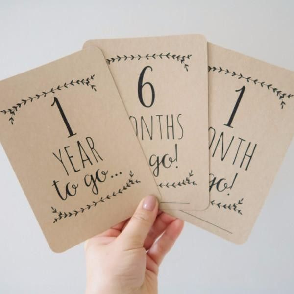 Your wedding in numbers!  How many days left? 1