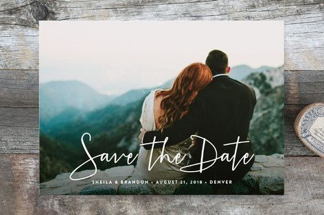 Save the dates - picture or no picture? 1