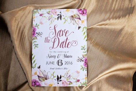 Save the dates - picture or no picture? 2