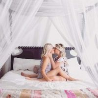 Engagement Picture in Bed