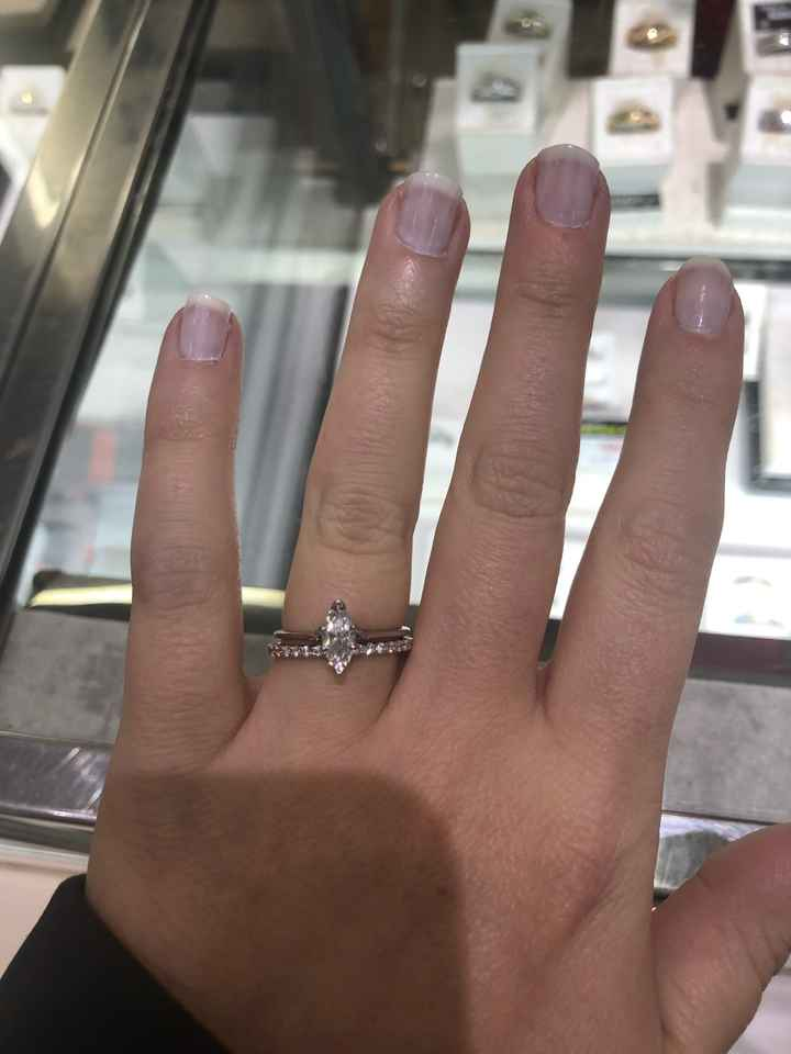 Can i just wear my wedding band now?!! - 1